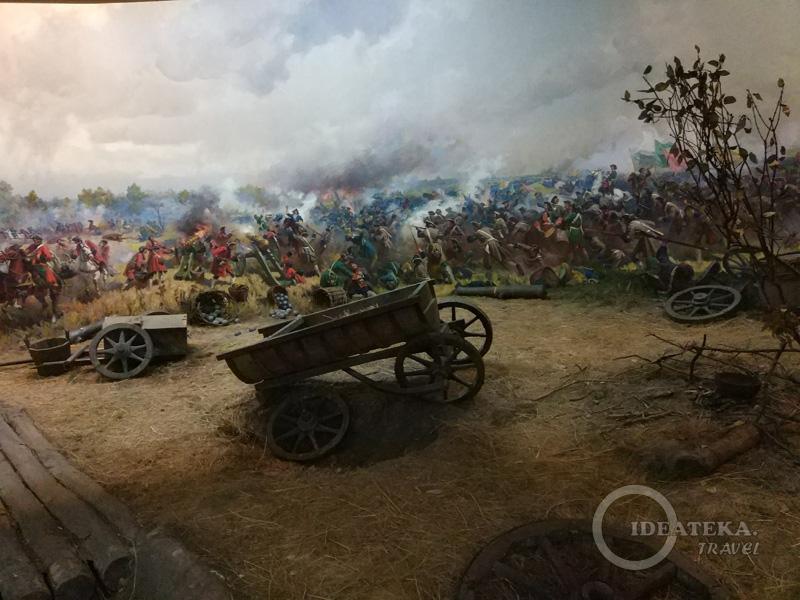 В Музее Полтавской битвы