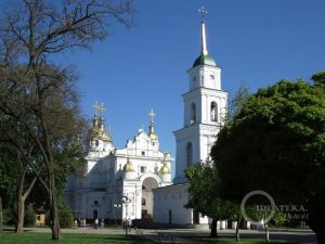 Свято-Успенский кафедральный собор в Полтаве