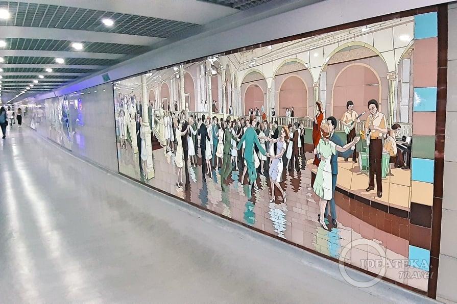 Мозаика в переходах в Ростове-на-Дону