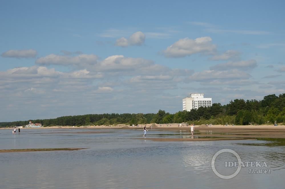 Берег Сестрорецка, Курортный район