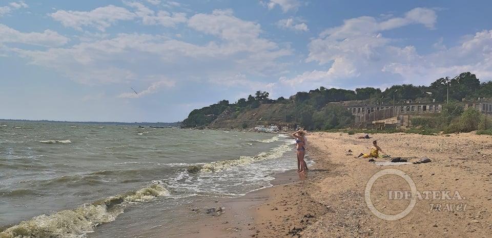Дикий пляж в Богудонии