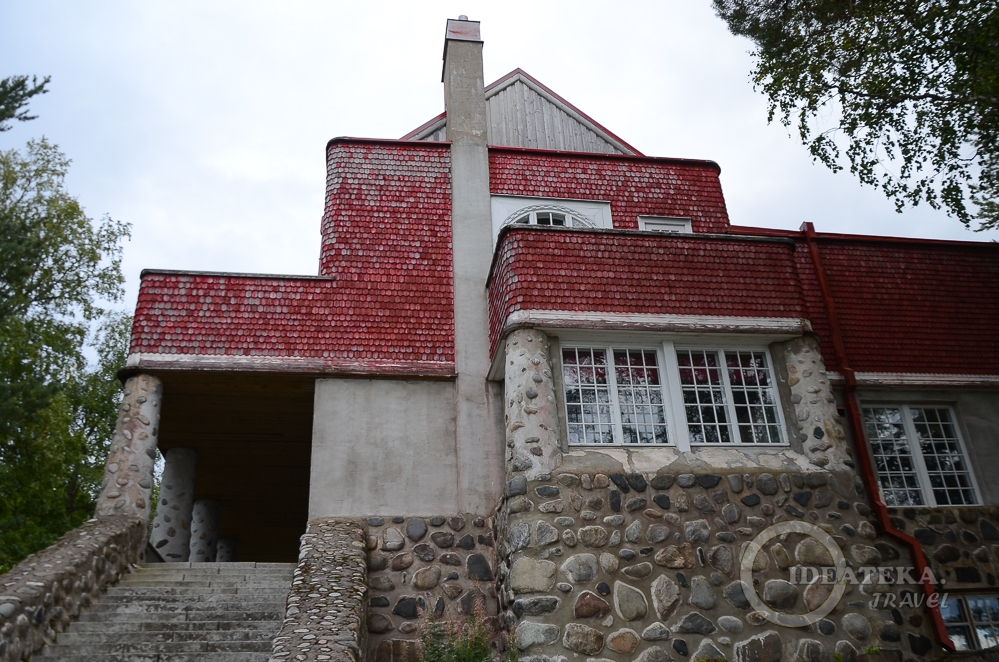 Дача Винтера на берегу Ладожского озера