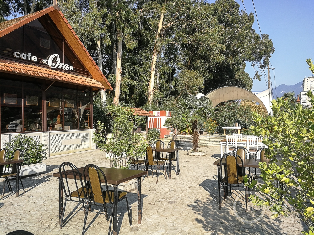"""Кафе """"Ора"""" около рынка в Гаграх"""